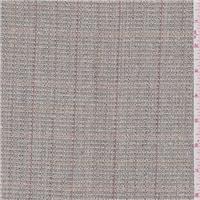 *5/8 YD PC--Grey Plaid Silk Suiting