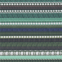 *5 1/4 YD PC--Green Stripe Stretch Canvas