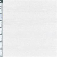 Frost White Sheer Stripe Sweater Jersey Knit