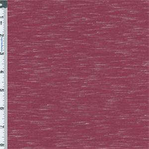 Magenta slub jersey knit 55923 discount fabrics for Space dye knit fabric by the yard