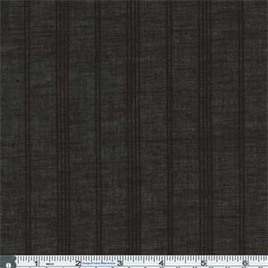 Black Textured Stripe Cotton Jacquard Shirting 56240