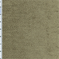 Dark Taupe Komodo Reptile Faux Velvet Home Decorating Fabric