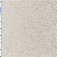 Parchment Ivory Komodo Reptile Faux Velvet Decorating Fabric