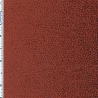 Copper Red Komodo Reptile Faux Velvet Home Decorating Fabric