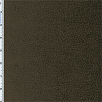 Dark Brown Komodo Reptile Faux Velvet Home Decorating Fabric