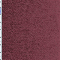 Red Wine Komodo Reptile Faux Velvet Home Decorating Fabric