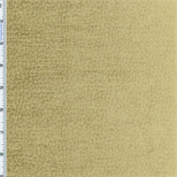 Golden Wheat Beige Komodo Reptile Faux Velvet Home Decorating Fabric