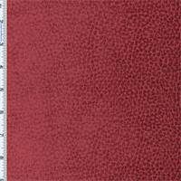 Rouge Berry Red Komodo Reptile Faux Velvet Home Decorating Fabric