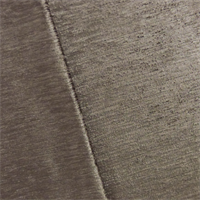 Dark Taupe Empress Chenille Strie Velvet  Decorating Fabric