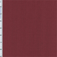 Cranberry Red Slub Woven Home Decorating Fabric