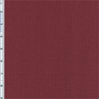 Cranberry Red Slub Woven Home Decorating Fabric