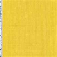 Yellow Slub Woven Home Decorating Fabric