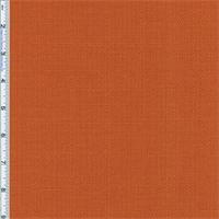 Sunset Orange Slub Woven Home Decorating Fabric