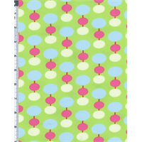 Green Tanya Whelan Sugar Hill Lantern Print Flannel