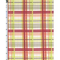 Cherry Multi Valori Wells Bridgette Lane Plaid Print Flannel