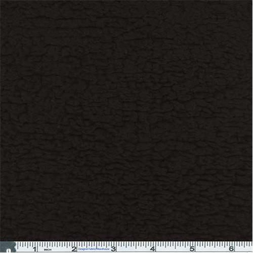 Black Lamb Texture Fleece 57137 Fashion Fabrics