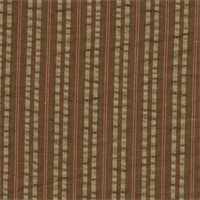*2 3/4 YD PC--Brown Striped Seersucker