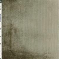 Stone Gray Panne Velvet Drapery Fabric