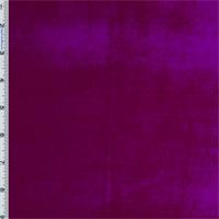 Magenta Panne Velvet Drapery Fabric