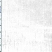 Ivory Panne Velvet Drapery Fabric