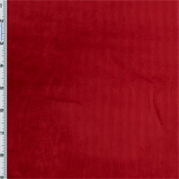 Silk Blend Red Panne Velvet Home Decorating Fabric