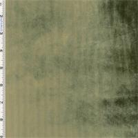 Sage Panne Velvet Drapery Fabric