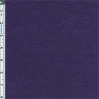 *3 YD PC--Deep Purple French Terry Sweater Jersey Knit