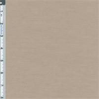 *1 7/8 YD PC--Beige Poly Blend Jersey Knit
