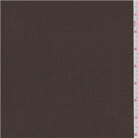 *3 1/4 YD PC--Chocolate Brown Suiting