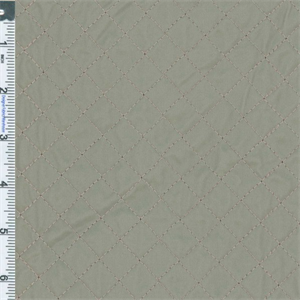 Trench Grey Quilted Vinyl Upholstery Fabric Dfw50050