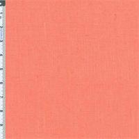 *2 1/2 YD PC--Salmon Pure Linen