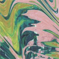 *1 5/8 YD PC--Multicolored Nylon Jersey