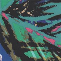 *1 1/8 YD PC--Multicolored Nylon Jersey