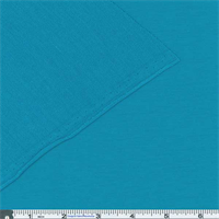 *3 YD PC--Cyan French Terry Jersey Knit