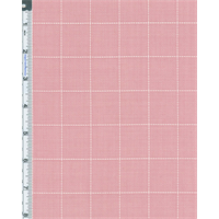 *3 YD PC--Pink Basket Stitch Plaid Suiting