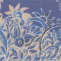 *2 5/8 YD PC--Blue Print Nylon Jersey
