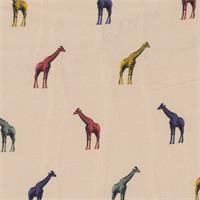 *5 1/2 YD PC--Giraffe Print Nylon Crepe