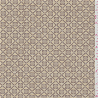 *3 1/2 YD PC--Yellow/Taupe Cotton