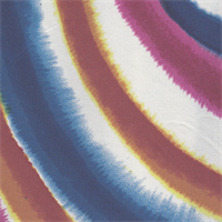 *4 YD PC--Circular Color Burst Silk Jersey