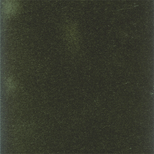 Designer Dark Green Mohair Velveteen Home Decorating Fabric