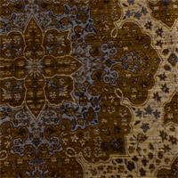 Orange/Beige Piazza Chenille Home Decorating Fabric