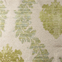 Spa Green/Beige Acanthus Chenille Home Decorating Fabric