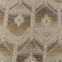 Sand Beige Aztec Chenille Home Decorating Fabric
