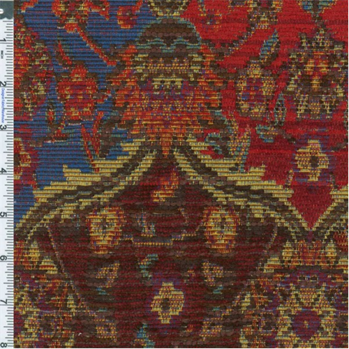 Tomato Red Marrakesh Tapestry Upholstery Fabric Dfw50139 Discount