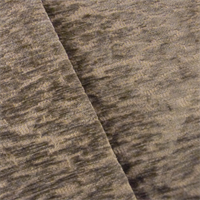Brown Textured Chenille Home Decorating Fabric