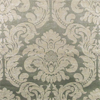 Zinc Grey Acanthus Chenille Jacquard Home Decorating Fabric