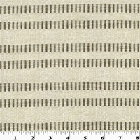 Designer Brown/Beige Ray Ribbed Stripe Home Decorating Fabric