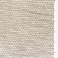 Creamy White Honeycomb Chenille Home Decorating Fabric