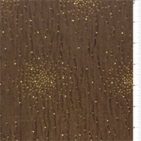 Brown/Gold Star Home Decorating Fabric