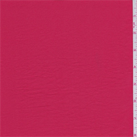 Coral Red Polyester Charmeuse